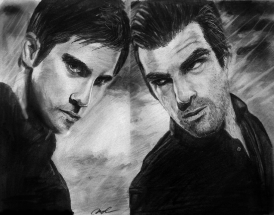 Zachary Quinto, Milo Ventimiglia by worthgold